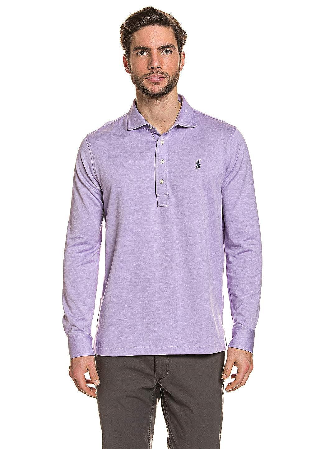 Polo Ralph Lauren MenŽs Polo Shirt Purple Fusion, tamaño:L: Amazon ...