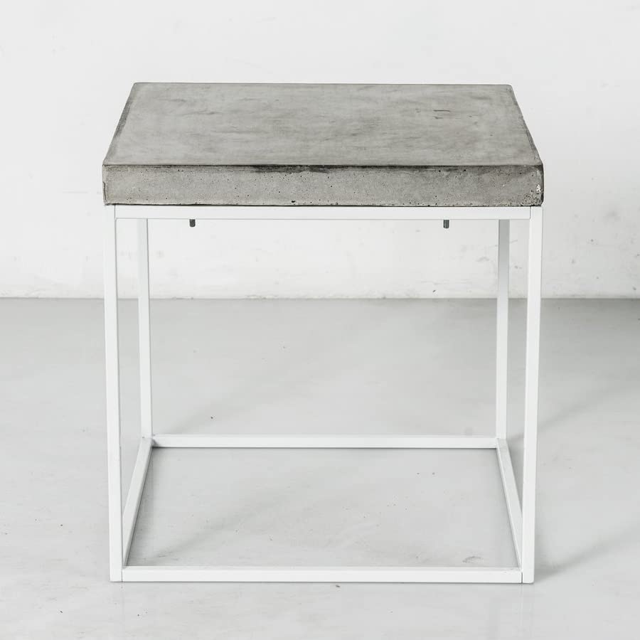 Ultra Minimalist Grey Concrete Coffee Table By Patrick Cain Designs