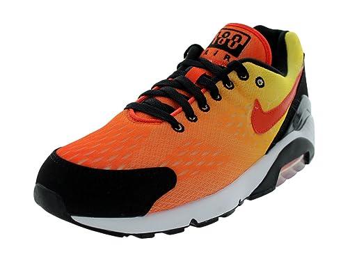 Air Max 180 Em Tm Orange Tm Orng Tr Yllw Blk Running Shoes 8 5 Us