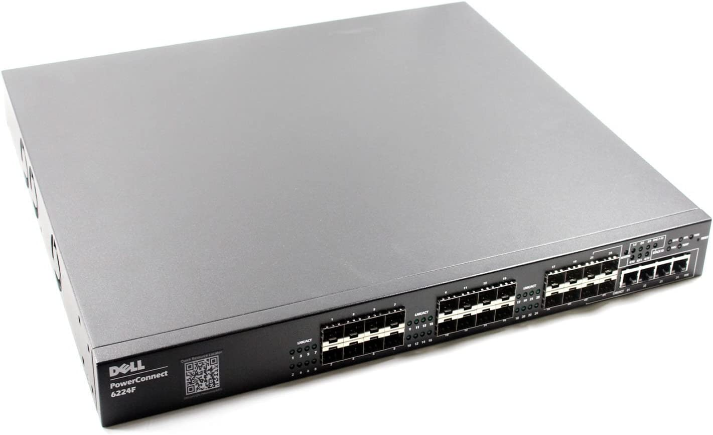 Dell Powerconnect 6224F 24 Ports 1GB Rack Mounted Fibre Ethernet Switch RR224