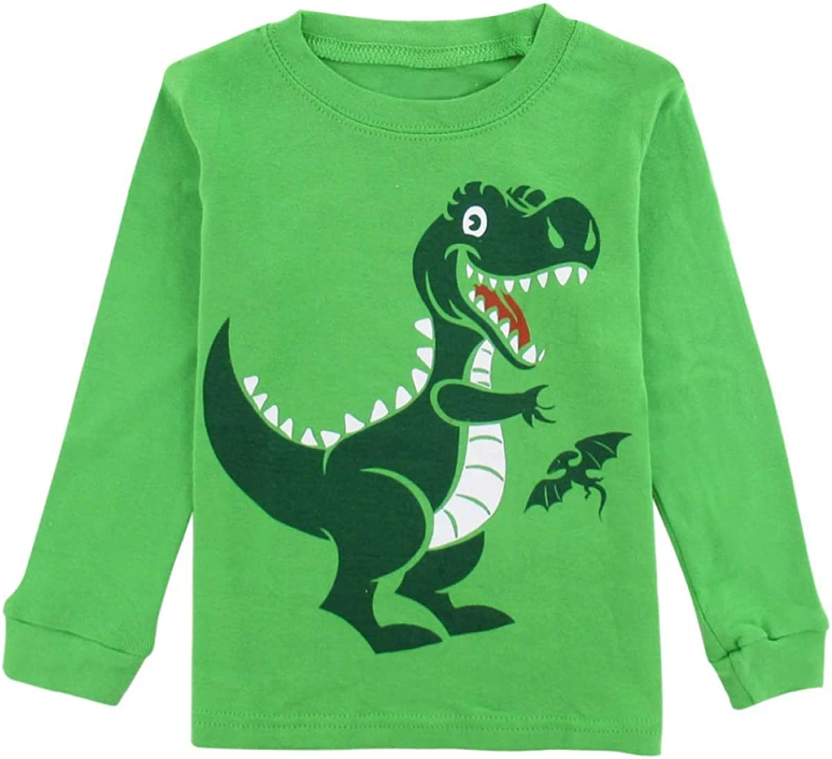 MIKI SHOP Kids Boy Winter Pyjamas Children Dinosaur Pijamas Cartoon Boy Pajamas Child Sleepwear Car Nightwear
