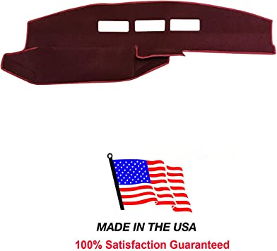 GMC Pick-Up Full Size 1988-1994 Carpet Dash Board Cover Mat Maroon