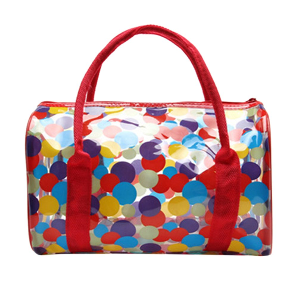 c9d22857f557 BoodTag Women's Clear Beach Bag Transparent Swimming Tote Shoulder Bag  Waterproof Large Format Handbag