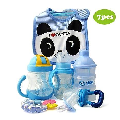 7pcs alimentador de alimentos para bebés, algodón puro ...