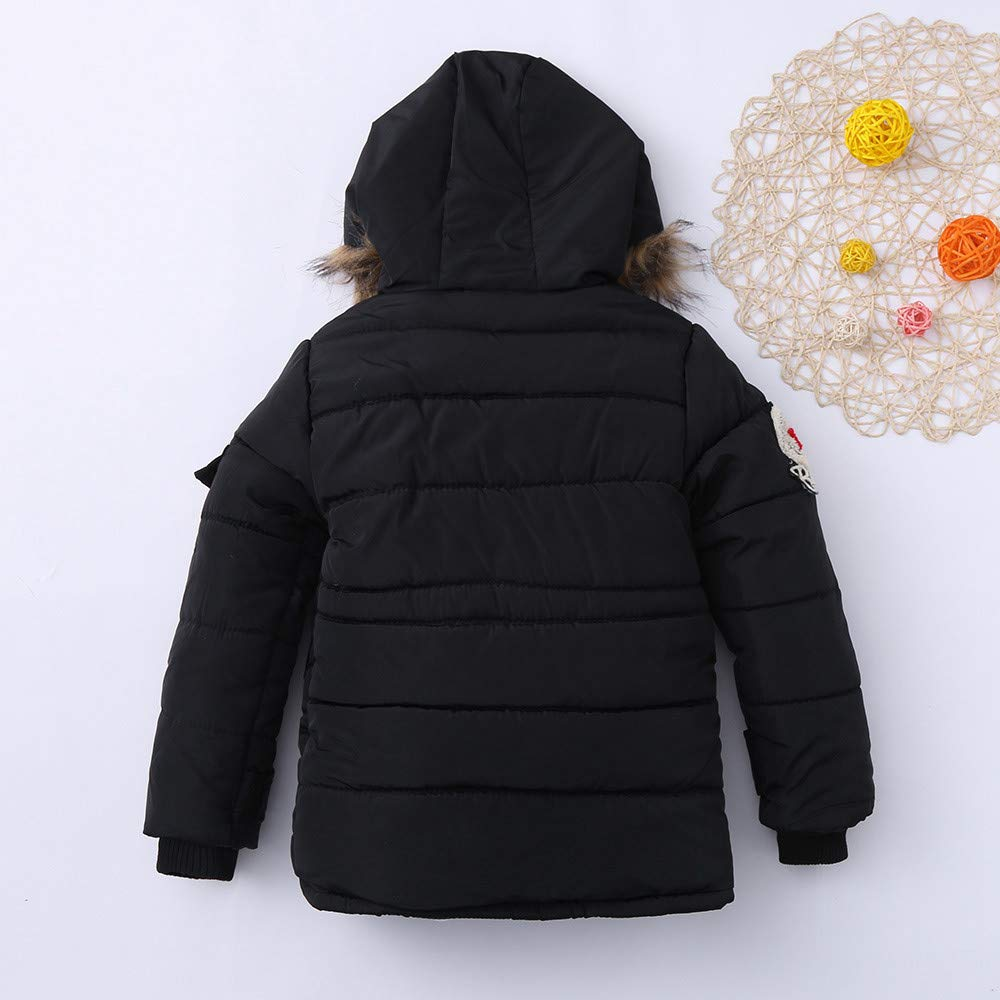 scaling Lightweight Windproof Jacket/♥ Children Kids Boys Girls Outwear Long Sleeved Hooded Keep Warm Wadded Jacket Clothes