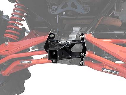 SuperATV Heavy Duty Can-Am Maverick Turbo/XDS/Max/XRS Rear Receiver