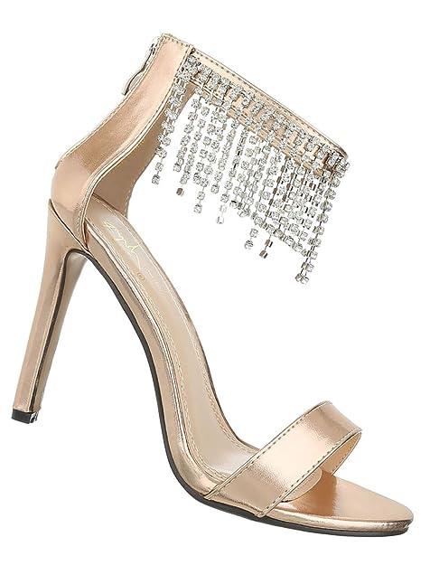 sports shoes 55a84 672e4 Damen Schuhe Sandaletten High Heels Abendschuhe Ballschuhe ...