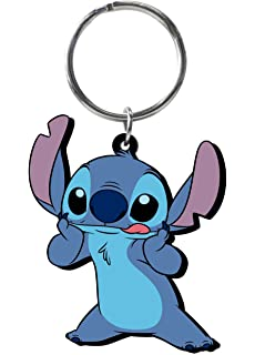 Amazon.com: Disney Lilo & Stitch - Angel Soft Touch PVC Key ...