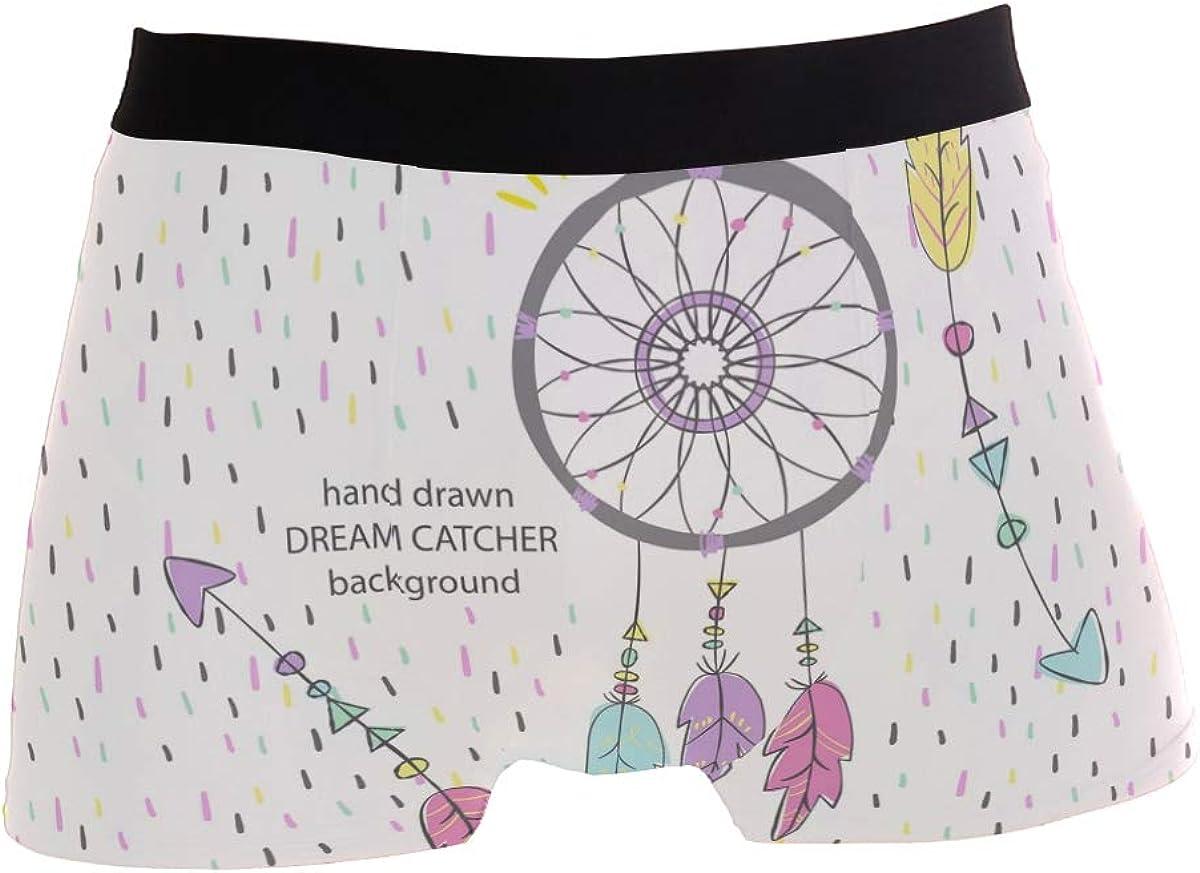 Jojogood Mens American Background Breathable Boxer Soft Briefs Classic Underwear Shorts