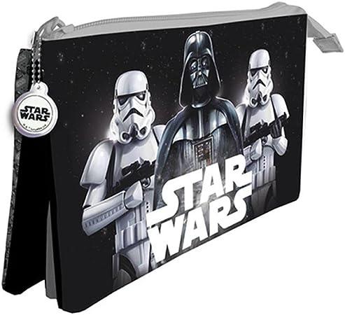 Star Wars Estuche portatodo con Tres Compartimentos: Amazon.es: Juguetes y juegos