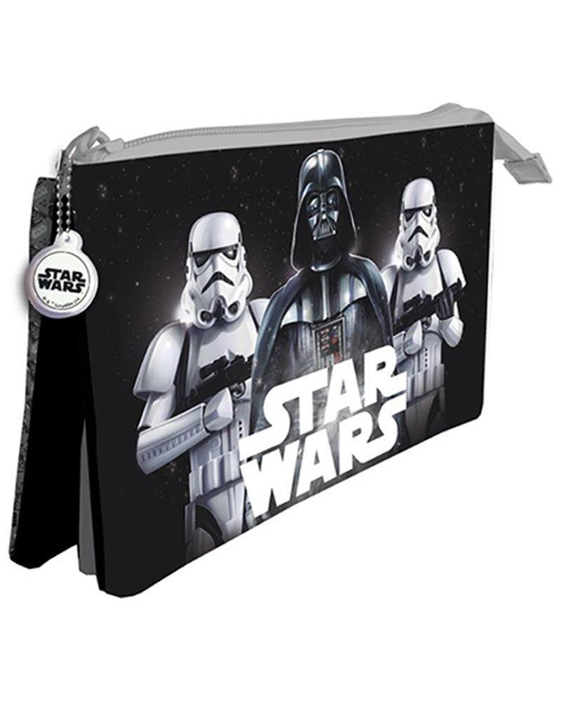 Star Wars Estuche portatodo con Tres Compartimentos