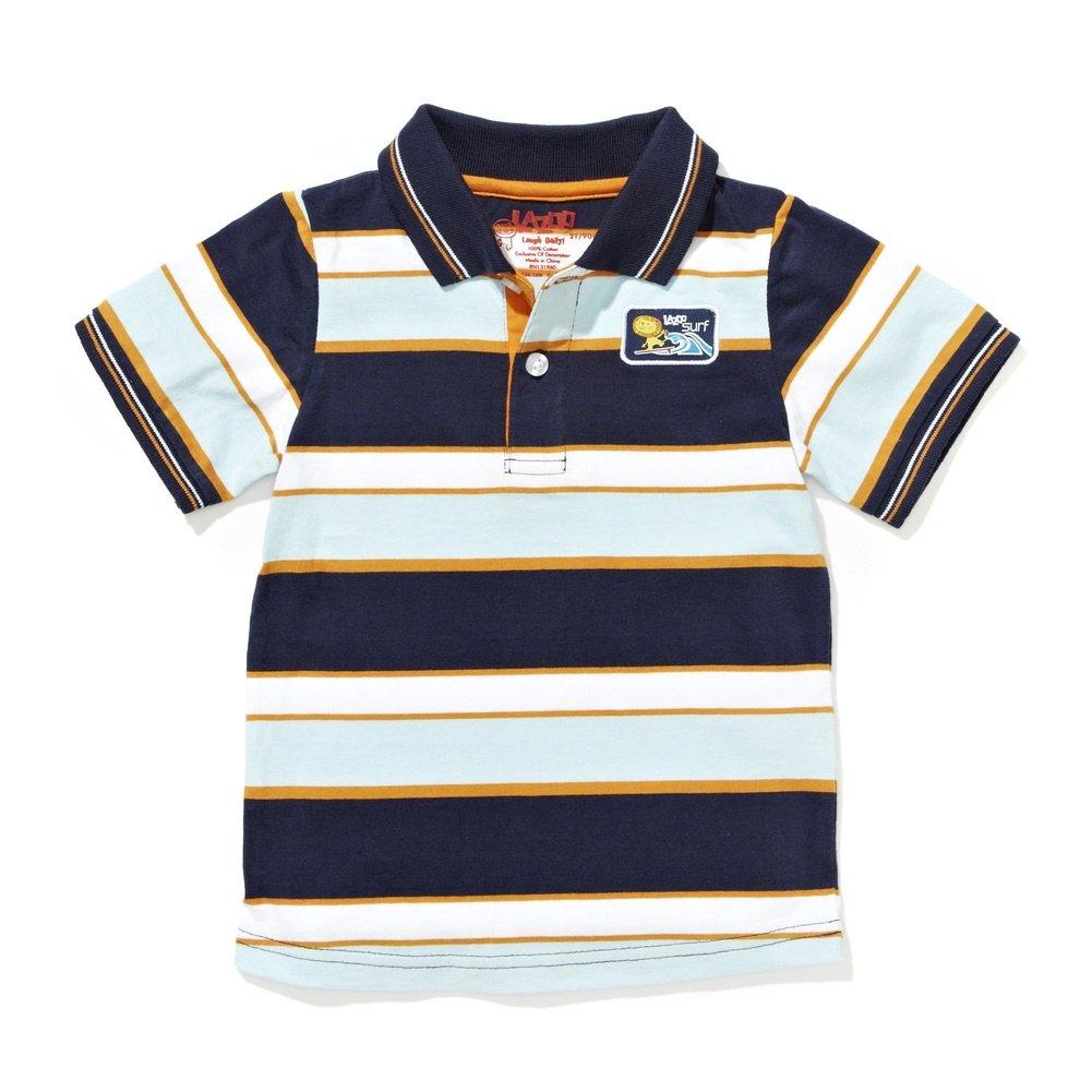 Boys lion polo shirt