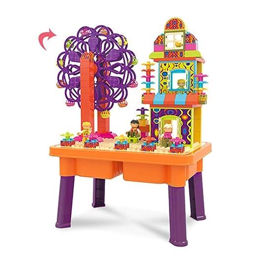 Mesa de juego Bloque de construcción multifuncional Bloque de ...