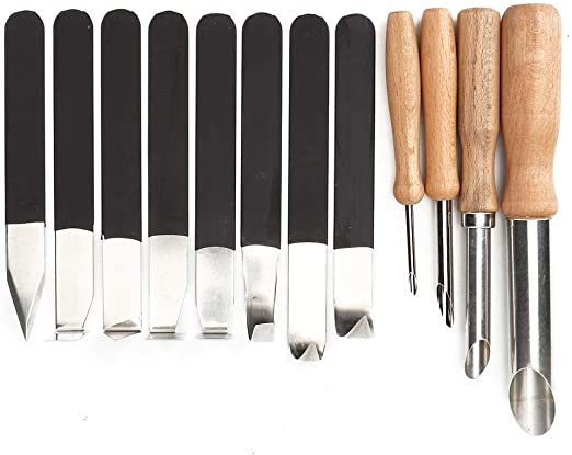 Wooden Handle Stainless Steel Clay Cutting Wire Carving Tool for Ceramic Art