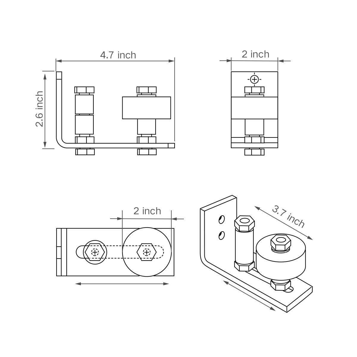 Flachkopfschraube Innen6kant u Bund ISO 7380-2 010.9 St gal zn get M 5x16-500 Stk