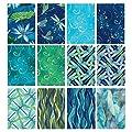 Benartex DANCE OF THE DRAGONFLY 12 Fat Quarters Cotton Fabric Quilting Assortmen by Benartex