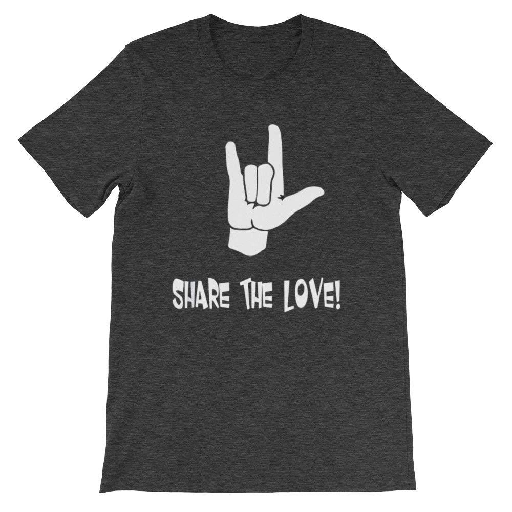Share Tee Adults Kids Love Unisex T-Shirt