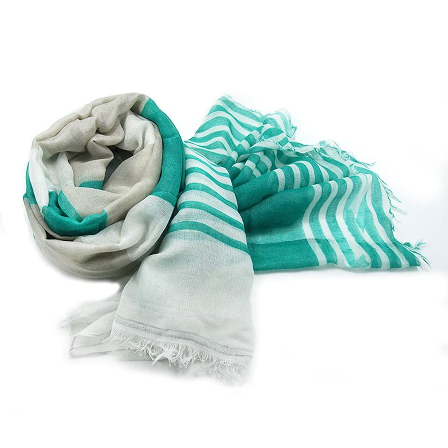 Sainfee Fashion Soft Cotton Letters Printed Scarf Female Long Scarves and Shawls