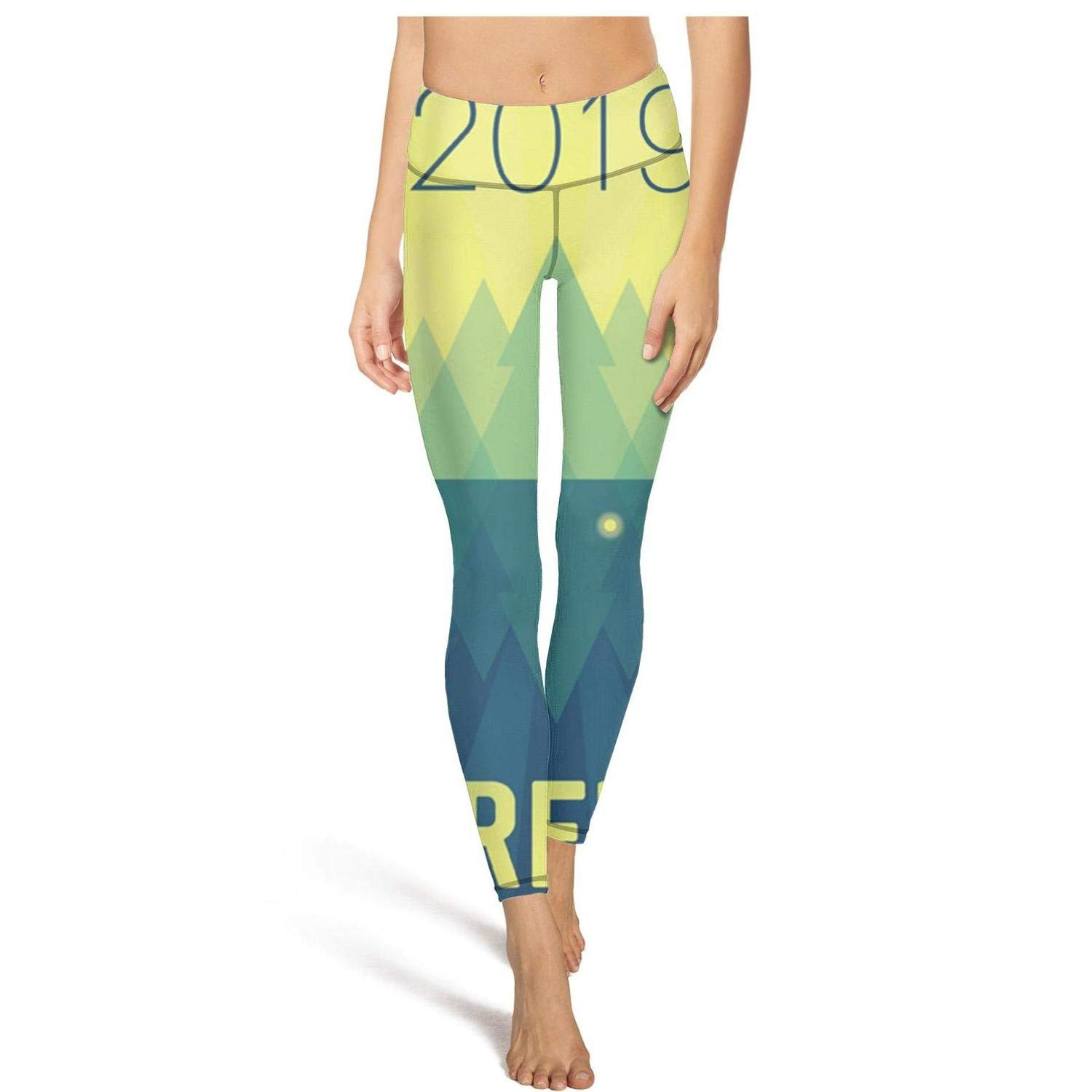 Pretty Leggings for Women Happy Firefly Music Festival Poster Outfits Womens Yoga Pants Tights Leggins