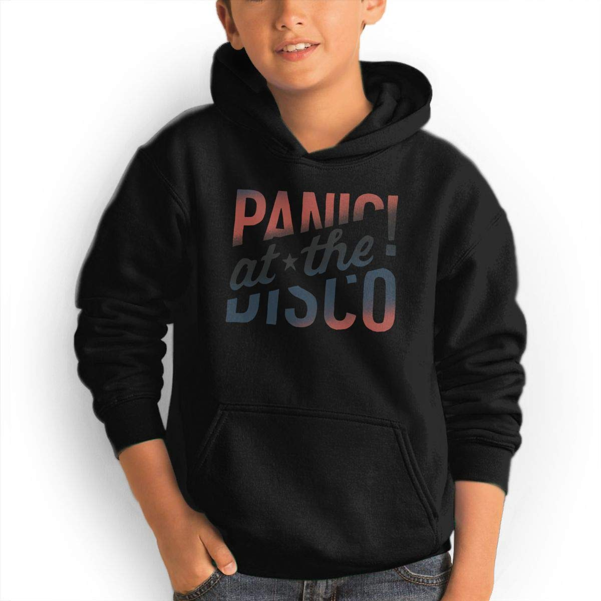 AlvinGuy Youth Boys and Girls Panic! at The Disco Logo Pockets Jackets Sweatshirts Hoodies Hooded by AlvinGuy