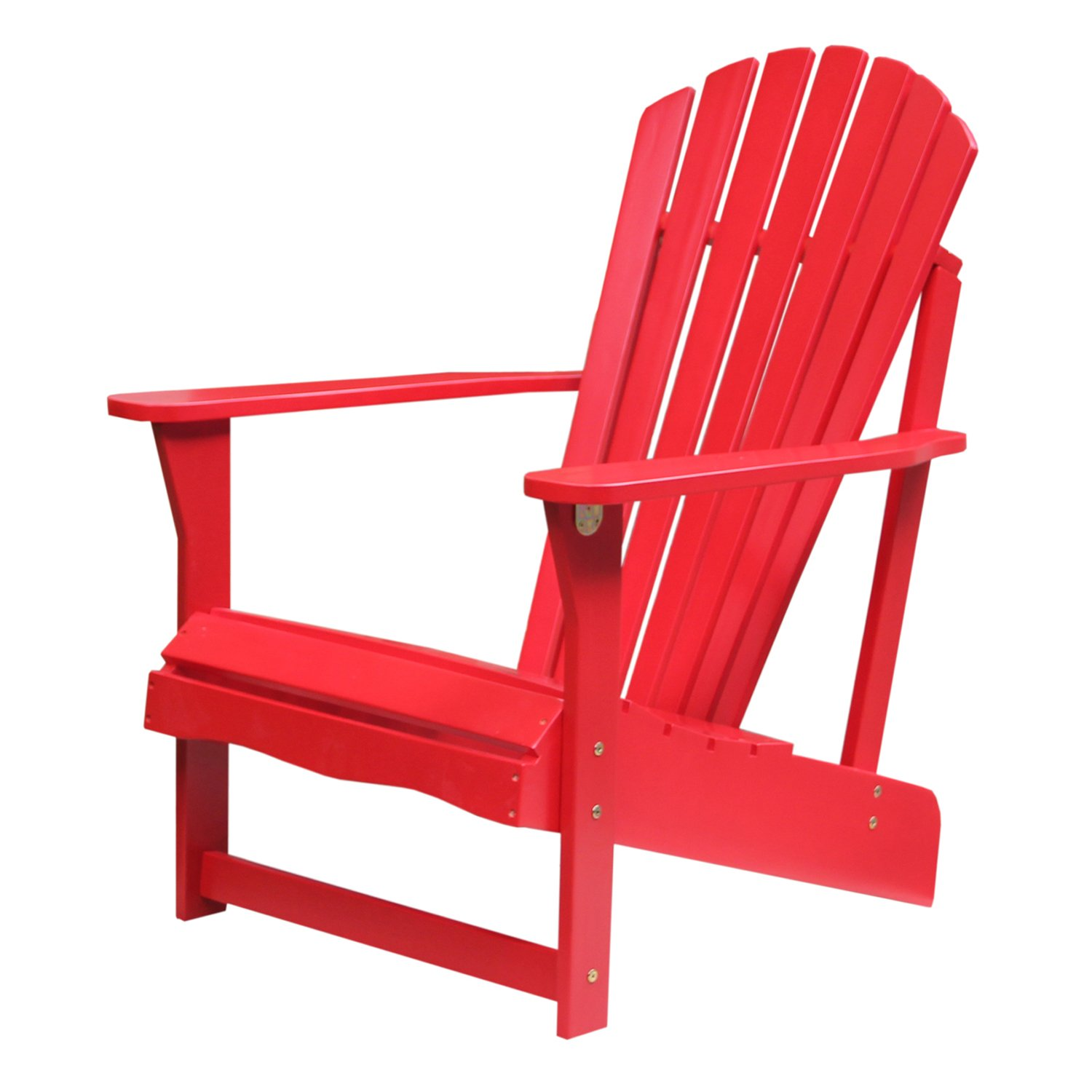 Amazon International Concepts C Adirondack Chair Red