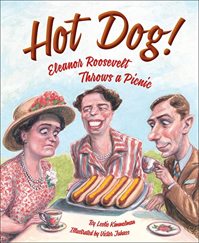 Hot Dog!  Eleanor Roosevelt Throws a - Hot Picture England