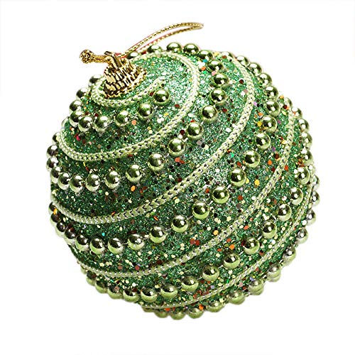 1PC Christmas Rhinestone Glitter Baubles Tree Ball Ornament Balls,Outsta Balls Xmas Tree Ornament Decoration for Holiday Wedding Party Christmas Decoration 3.14