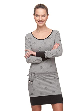 5ab056d7c10e13 Ragwear Alexa B Light Grey Kleid (L)  Amazon.de  Bekleidung