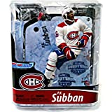 Mcfarlane Toys Nhl Sports Picks Series 28 Action Figure P.K. Subban (Montreal Canadians) White Jersey Bronze Collector Level Chase