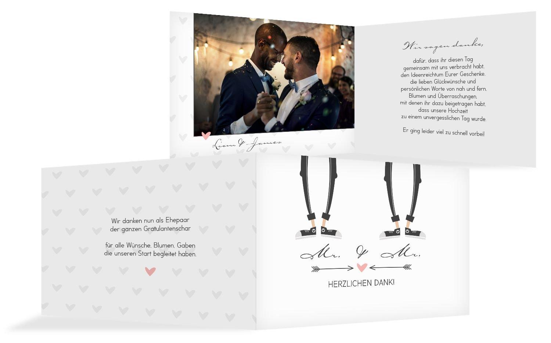 Hochzeit Dankeskarte Pärchen - Männer, 10 Karten, Rosa Rosa Rosa B07B6QDG68 | Moderate Kosten  | Moderne und stilvolle Mode  | Bevorzugtes Material  1eb990