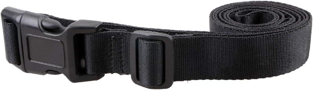 TRIWONDER Sangle /à Cliquet 1m//1,5m//2m//2,5m//3m Sangle dArrimage 25//30mm Courroies de Serrage /à Boucle R/églable pour D/ém/énagement 4pcs Noir - 25mm, 2m