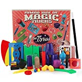 Magic Set Over 75 Tricks - Coerni Magic Set for Kids with DVD Kit (Red)