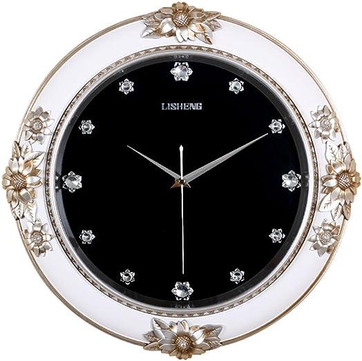 large European style Minimalist art wall clock Creative Quartz clock decoration Wall clock bedroom Mute Pocket watch Craft