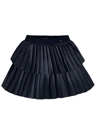 3903 Tulle Ruffle Skirt for Girls Navy Mayoral