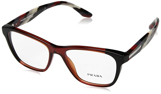 Amazon.com: Prada Womens PR 04TV Eyeglasses: Clothing
