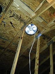 Broan 355bk Roof Mount 120 Volt Powered Attic Ventilator