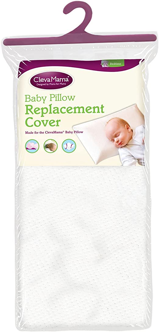 Blue Clevamama Replacement Baby Pillow Case