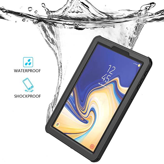 Samsung Galaxy Tab S4 10 5 Inch T830 T835 Waterproof Case, BasicStock Full  Sealed IP68 Certified Dustproof Shockproof Heavy Duty Protection Underwater