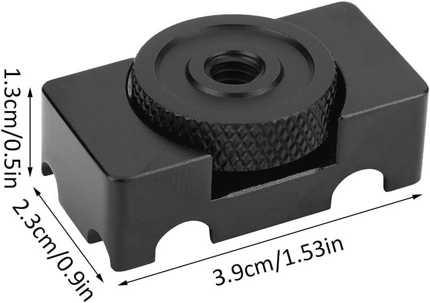 Vbestlife Aluminum Alloy Tether DSLR Camera Digital USB Cable Lock Clip Clamp Protector