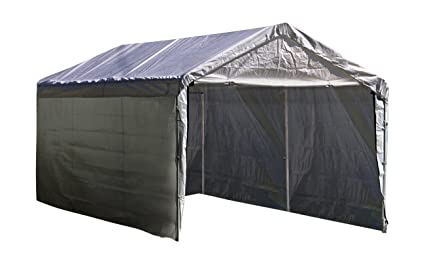ShelterLogic Super Max 12 ft. x 20 ft. White Canopy Enclosure Kit Canopy  sc 1 st  Amazon.com & Amazon.com: ShelterLogic Super Max 12 ft. x 20 ft. White Canopy ...