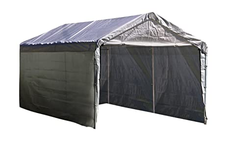ShelterLogic Super Max 12 Ft. X 20 Ft. White Canopy Enclosure Kit, Canopy