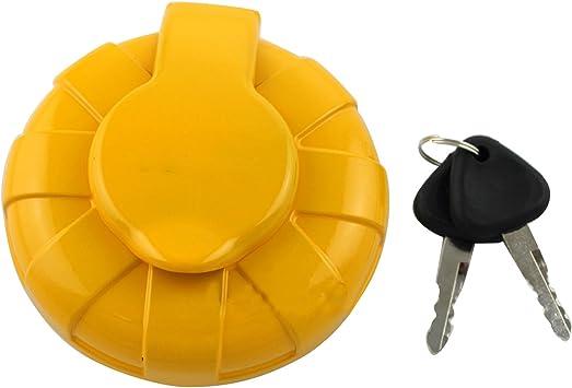 SA1116-00240 1116-00240 111600240 12V 24V Fuel Cap SINOCMP Fuel Cap with 2 Keys for Volvo EC210 EC240 EC290 EC360 EC55B EW55B EC55 EW55 EC140 KEC150 Excavator Parts 3 Month Warranty