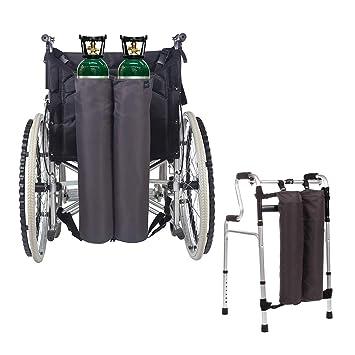 Oxygen - Mochila portabotellas portátil para silla de ruedas ...