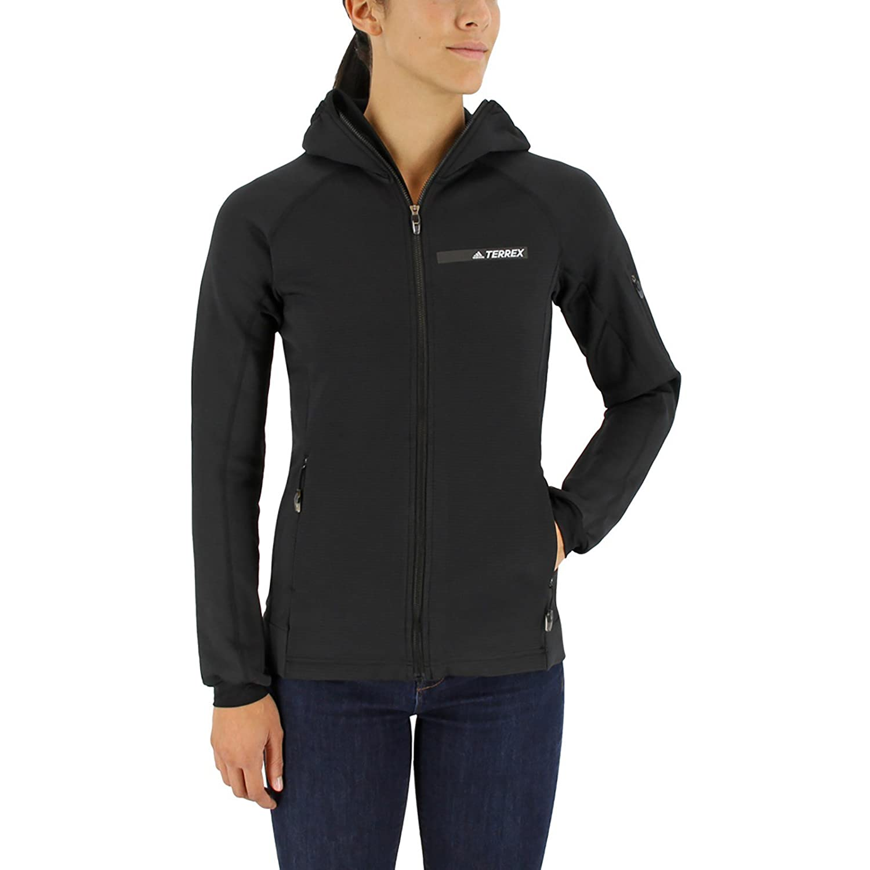 6a8dd472e8 Amazon.com: adidas outdoor Women's Terrex Stockhorn Hooded Fleece ...