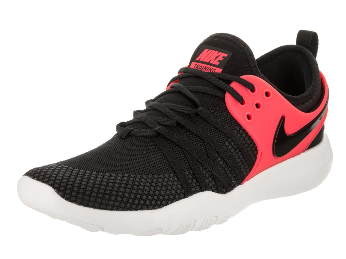 NIKE Free Tr 7 Womens Cross Training Shoes B01MR5GK21 8 B(M) US|Black/Black-solar Red-summit White