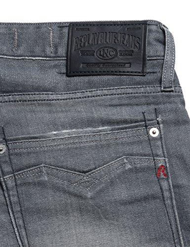 Grigio Adatti Allentati Newbill Uomo Denim Jeans grey 9 Replay AxnqXdwEq