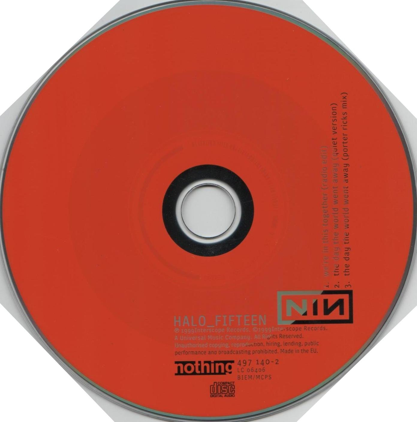 Nine Inch Nails - We\'re in This Together 2 / Porter Rick Mix / Day ...
