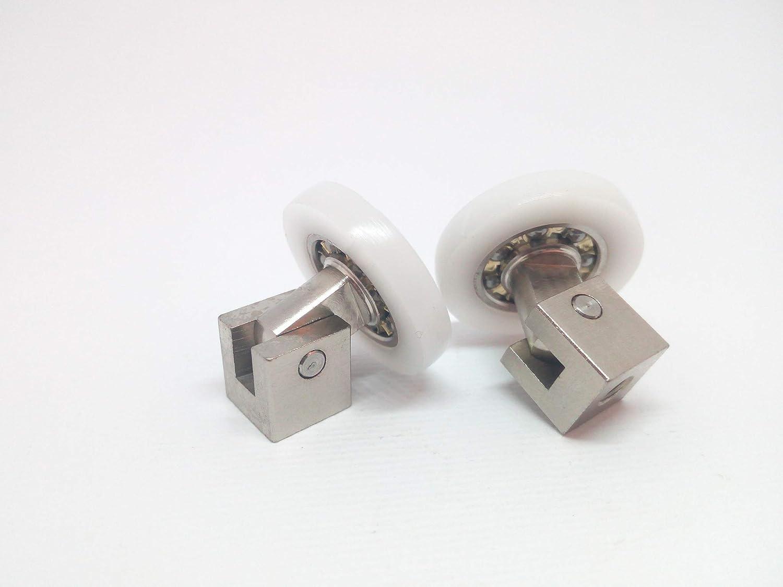 RPB - Repuesto de rodamientos para cabina de ducha Kit de 2 piezas ...