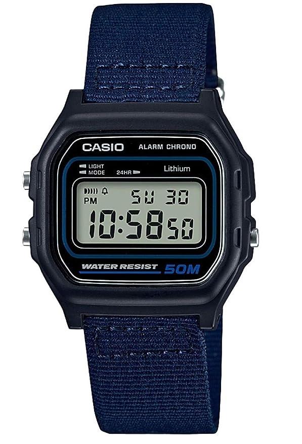 Reloj Casio con correa de tela