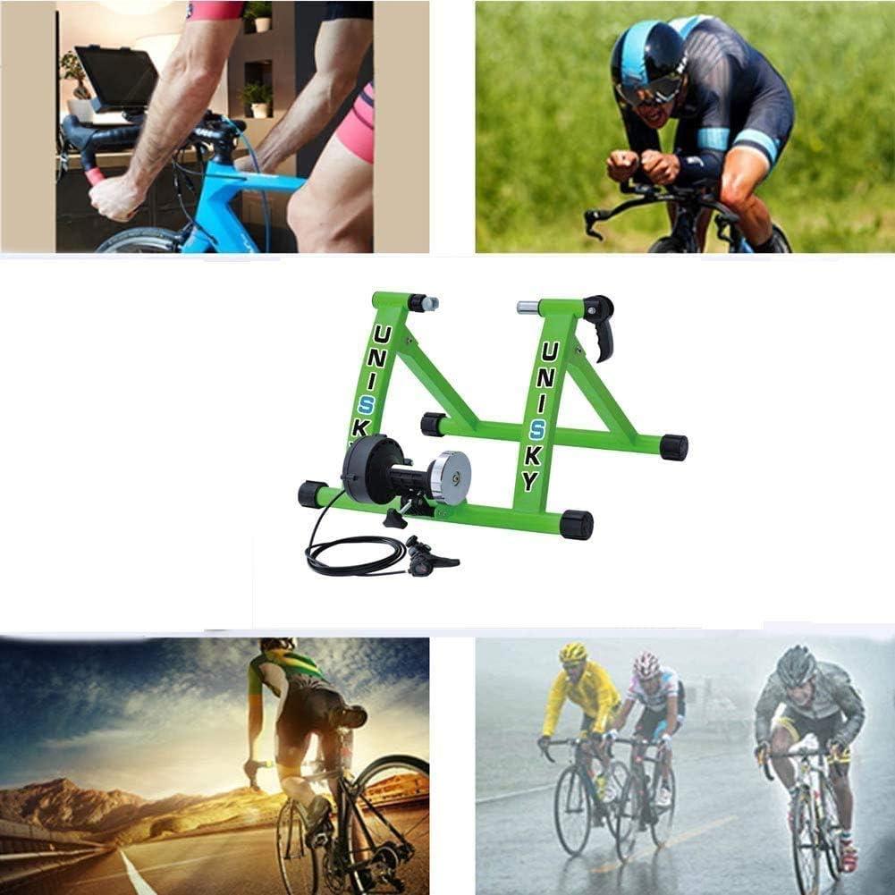 GRJKZYAM Rodillo De Entrenamiento De Bicicleta De Carretera 26-28 Pulgadas De Bicicletas Plataforma De Equitación Cubierta Y La Formación Al Aire Libre Plataforma: Amazon.es: Deportes y aire libre